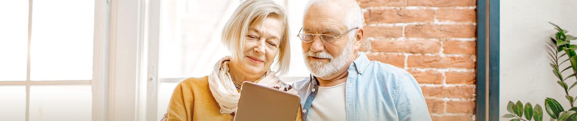 Seniorenpaar