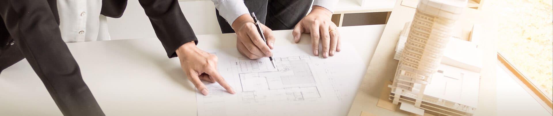 Planung Aufteilung von Wohnungen